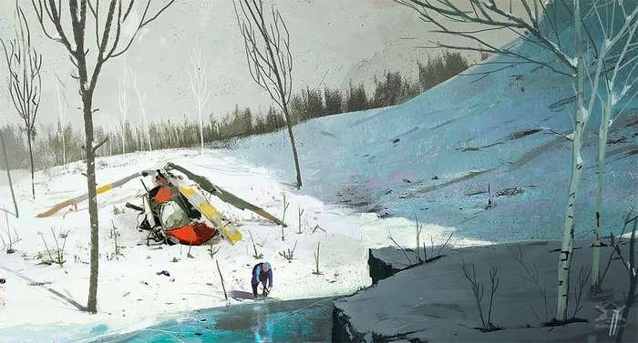Постапокалиптический концепт-арт болгарского художника Исмаила Инчеоглу