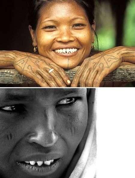 Экстремальные модификации тела в различных культурах