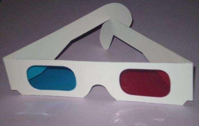 Первый 3D художественный фильм был показан в 1922 году