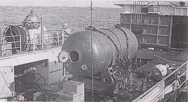 Вода в иллюминаторе: как следы трактора на океанском дне привели американцев в смятение-10 фото-