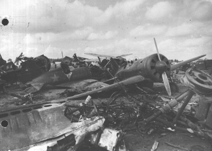 Причины -разгрома- авиации РККА в июне 1941 года-7 фото-