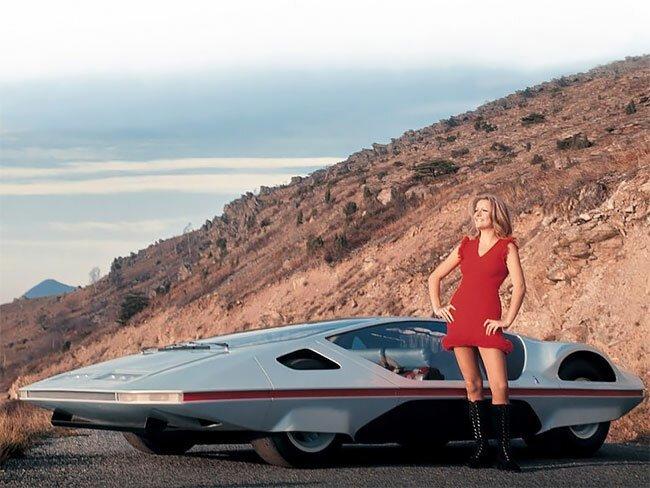 Вот таким в 1970-х представляли спорткар будущего-11 фото + 1 видео-