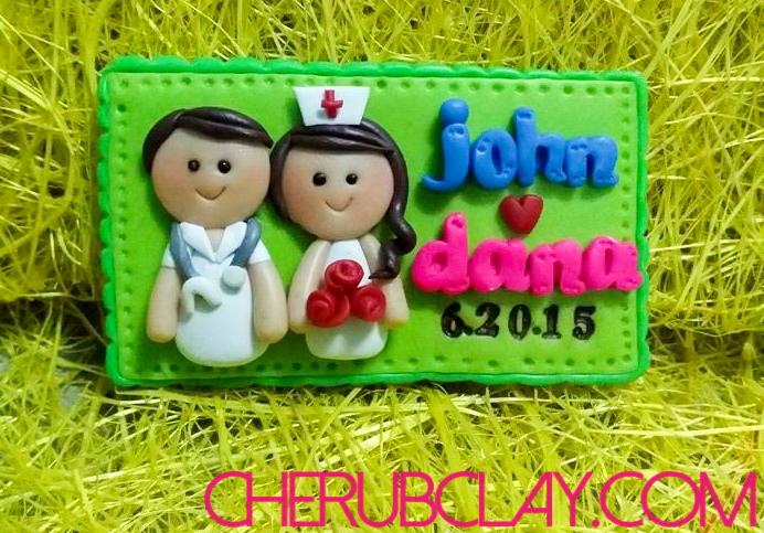 Nurse Groom and Bride =)