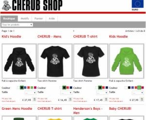 CHERUB Shop