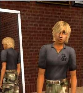 James dans les Sims ?