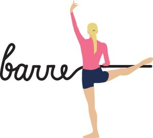 picture of a woman in pink to accompany barre class description