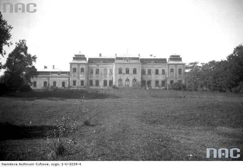 Палац Потоцьких (Вишневецьких) в Кристинополі. Фото 1918-1939 рр