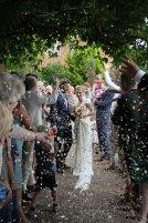 wedding, Cheryl Angear Photography, confetti, summer, outdoors, Surrey