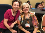 One of the best parts of writers conferences is hanging out with other writers. Loved getting to spend time with my dear friend Jeneal at a conference in Oklahoma.