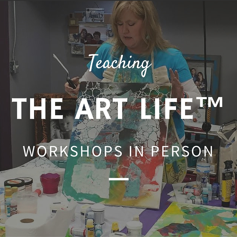 Cheryl Boglioli Teaching Art Workshops