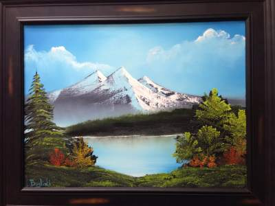 Joy of Painting Class - Mountain Lake