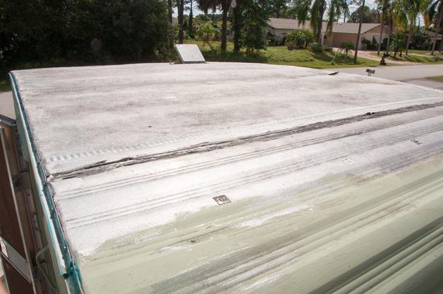 CherylBoglioli_Glinda_Glamper 0131. Glinda Still Had Her Original Aluminum  Roof.