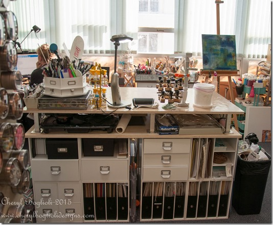 My Amazing DIY Craft Desk