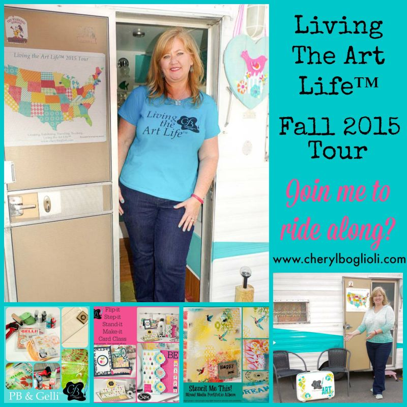 Fall 2015 Living The Art Life™ Tour