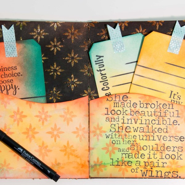 Art Journaling with the Journal Buddy