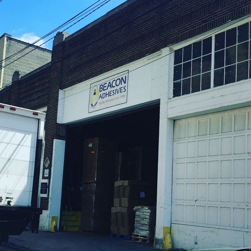Cheryl Boglioli Visits Beacon Adhesives