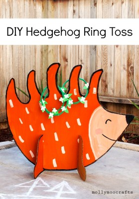 hedgehog ring toss
