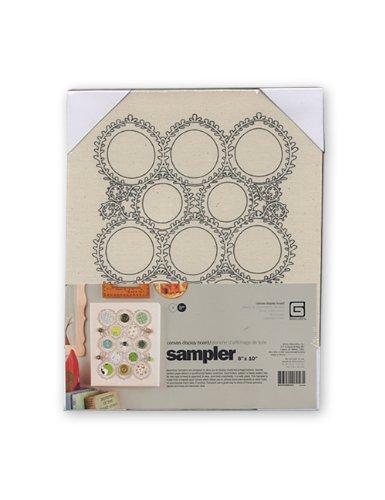 Basic Grey Sampler Circles