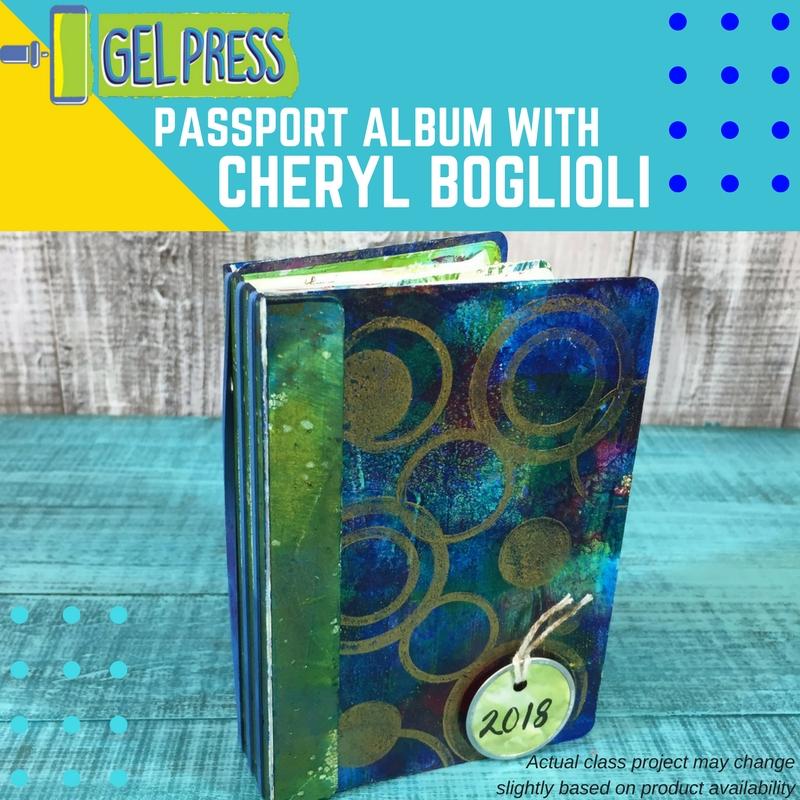 Gel Press with Cheryl Boglioli