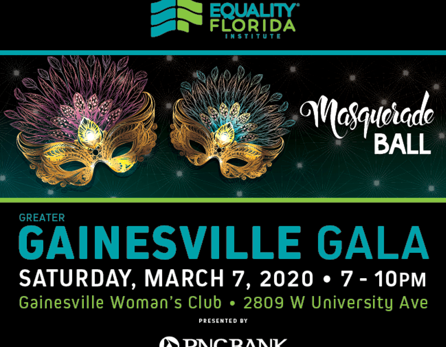 Equality Florida Gainesville Gala – March 7th