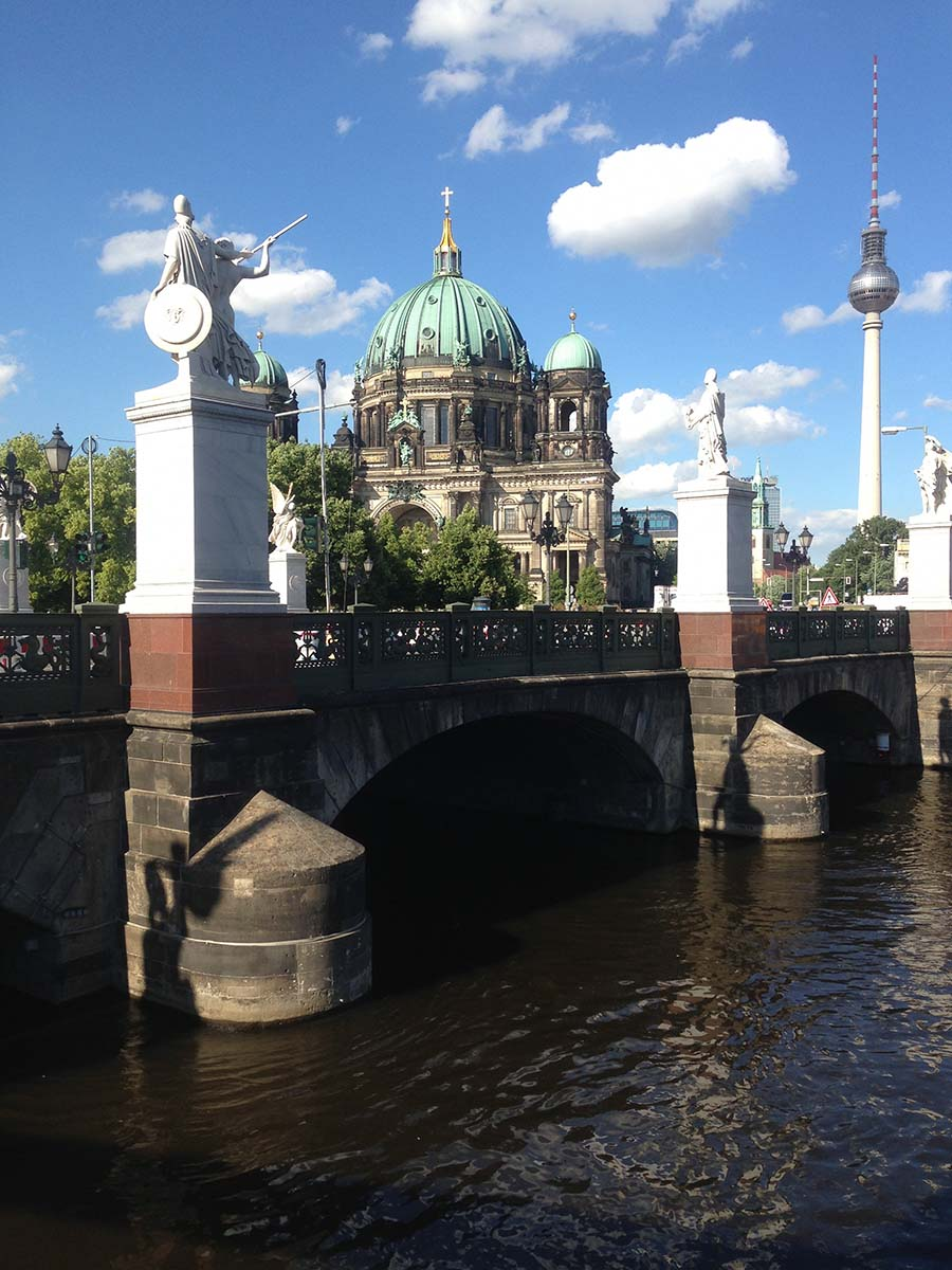 Cathedral and River Spree in Berlin