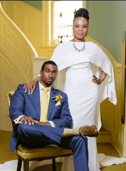 Custom Gown by Cheryl A. Lofton & Associates