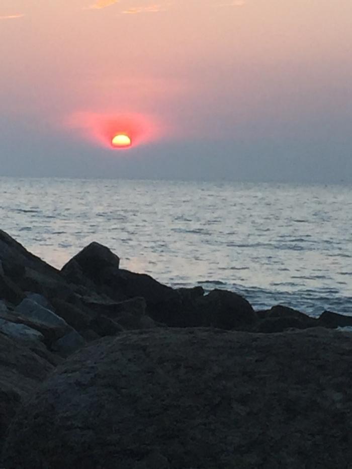 © Karuna's sunset in India , LivingLearningandLettingGo