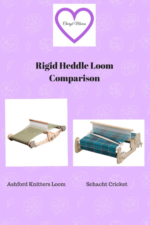 Learn the key differences between Ashford and Schacht Rigid Heddle Looms.