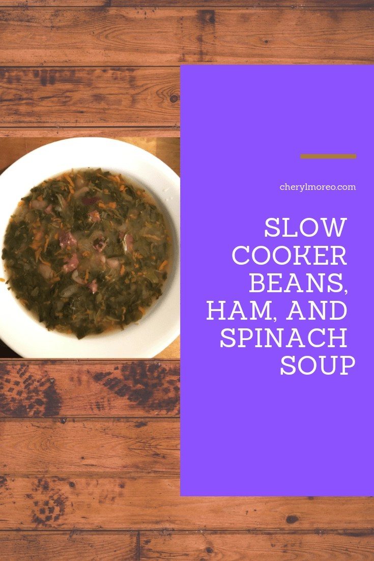 The perfect soup for your busy day.  Just dump the ingredients into your slow cooker and come home to a nutritious meal.