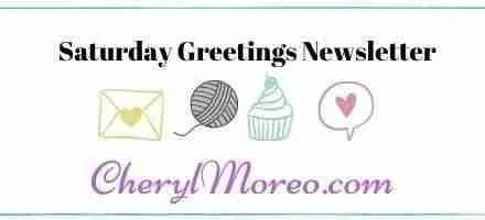 Saturday Greetings Newsletter #87