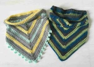 crochet bandana cowl