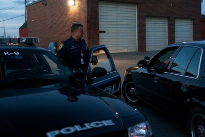 As members of the Special Reaction Team, South Portland Police Department's version of SWAT, Kevin and Baron are called upon in the most high-risk cases, such as hostage situations.