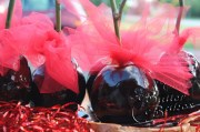 Delicious licorice and cinnamon tasting Black Candy Apples