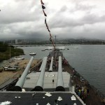 USS Missouri, permanently docked at Pearl Harbor