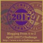 #AtoZChallenge is a month long blogging challenge