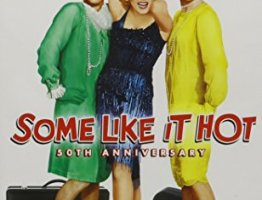 #1 on the list of my favorite movies is Some Like It Hot
