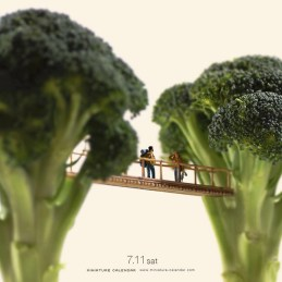Today's blog highlights miniature dioramas and gravity defying sculptures from two talented artists as well as some valuable blogging and writing advice.