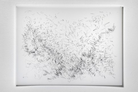 "12.24.09, graphite on vellum, 19 x 24"", 2009"
