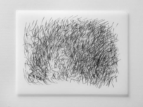 "Untitled #22, graphite on vellum, 19 x 24"", 2009"