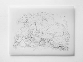 """9.29.12.1, graphite on vellum, 19 x 24"""", 2012"""
