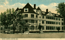 The Hotel Avon (later called Hotel Norris) stood on the site where the Tidewater stands today.