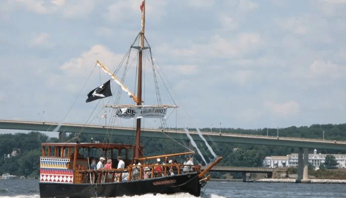 Come aboard our Pirate Ship!
