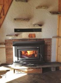 Wood heater ~ Suvretta