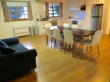 Large kitchen and dinning