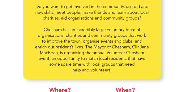 Volunteer Chesham!
