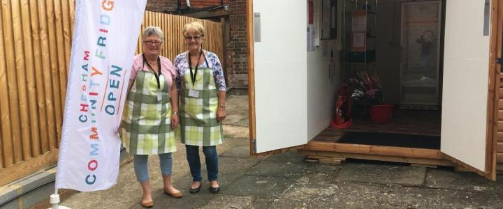 Commissioning service and official opening of Chesham Community Fridge
