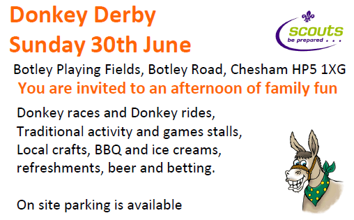 The Donkey Derby – Chesham Connect