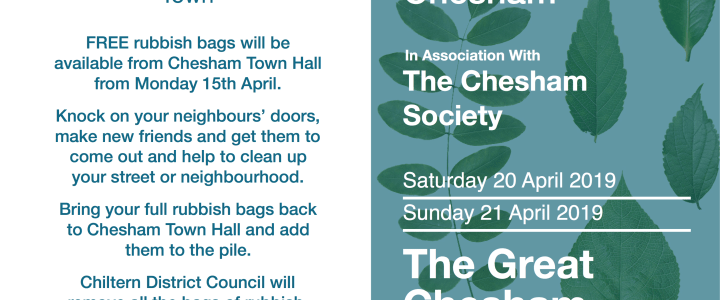 The Great Chesham Spring Clean