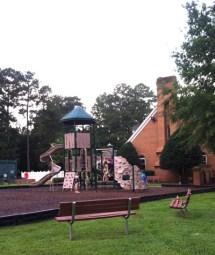 Playground at Cheshire Forest