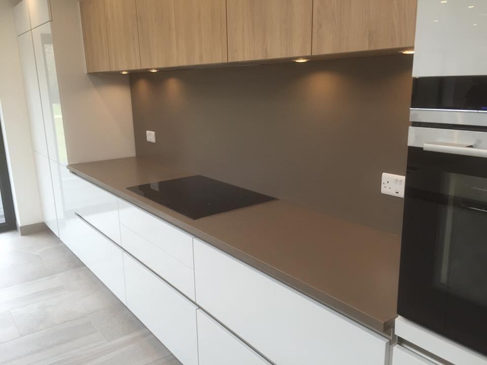 Choosing A Countertop To Match White Units Granite Line